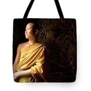 Monk Alex Laos Tote Bag