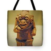 Monkey Stone Tote Bag