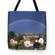 Monkstown, Co Dublin, Ireland Rainbow Tote Bag