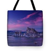 Mono Lake's Fiery Sky Tote Bag