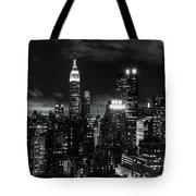 Monochrome City Tote Bag