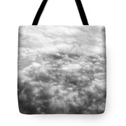 Monochrome Clouds Tote Bag