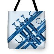 Monochrome Trumpet Tote Bag