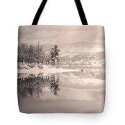 Monotone Winter Tote Bag