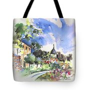Monpazier In France 01 Tote Bag