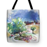Monpazier In France 04 Tote Bag
