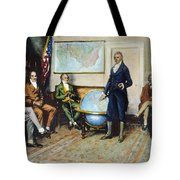 Monroe Doctrine, 1823 Tote Bag