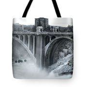 Monroe St Bridge 2 - Spokane Washington Tote Bag
