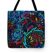 Monster Wave Tote Bag