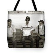 Montana Bench Boys Part II Tote Bag