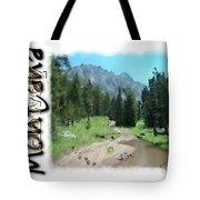 Montana Howdy Tote Bag