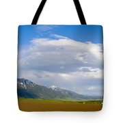 Montana Ploughed Earth Field Tote Bag