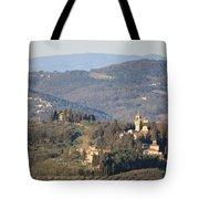 Montegufoni Castle Tote Bag