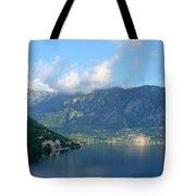 Montenegro's Bay Of Kotor Tote Bag