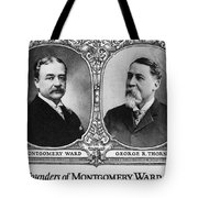 Montgomery Ward Founders Tote Bag