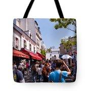 Montmartre Artist Colony Tote Bag