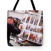 Montmartre Street Artists Tote Bag
