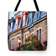 Montreal Architecture Tote Bag