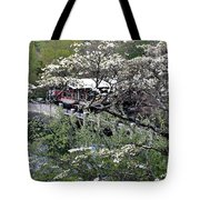 Montreat In Spring Tote Bag