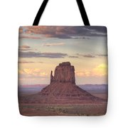 Monument Valley - East Mitten Butte Tote Bag
