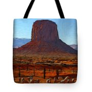 Monument Valley 2 Pastel Tote Bag