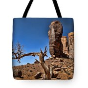 Monument Valley Lone Tree Tote Bag