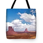 Monument Valley Pano Tote Bag