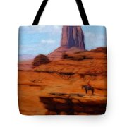 Monument Valley Pastel Tote Bag