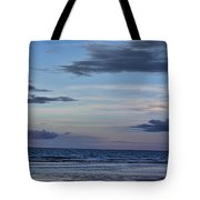 Moon Beach Tote Bag