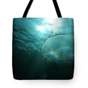 Moon Jelly Aurora Tote Bag