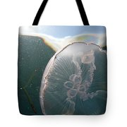 Moon Jelly Rise Tote Bag
