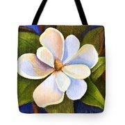 Moon Light Magnolia Tote Bag by Elaine Hodges
