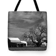 Moon Lit Farm Tote Bag