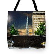 Moon Over Asheville Tote Bag