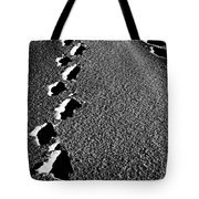 Moon Walk Tote Bag by Empty Wall