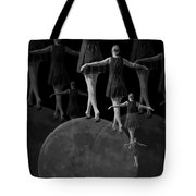 Moon Walking Tote Bag