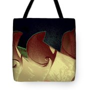 Moon Waves Tote Bag