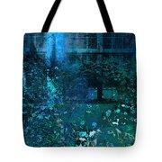 Moonlight In The Garden Tote Bag
