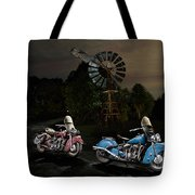 Moonlight Indian Chief Tote Bag
