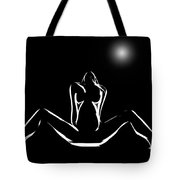 Moonlight Romance Tote Bag