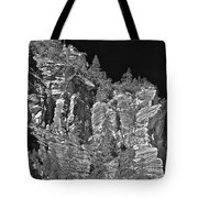 Moonlit Cliffs Tote Bag