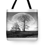Moonlit Silhouette Tote Bag
