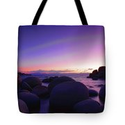 Moonrise Over Tahoe Tote Bag