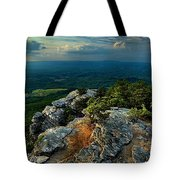Moore's Knob Sunset Tote Bag