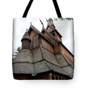 Moorhead Stave Church 8 Tote Bag