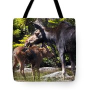 Moose Brunch Tote Bag