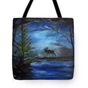 Moose Pond Tote Bag