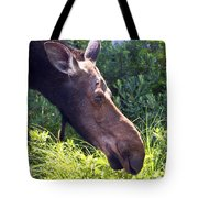 Moose Profile Tote Bag