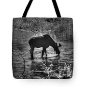 Moose Silhouette Tote Bag