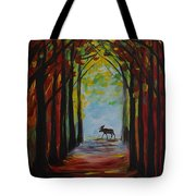 Moose Territory Tote Bag